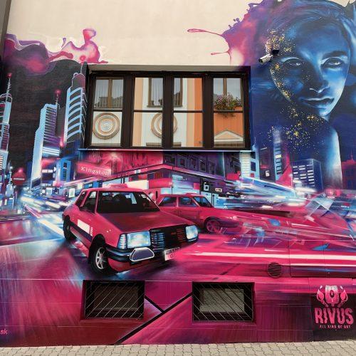 Mural a street art