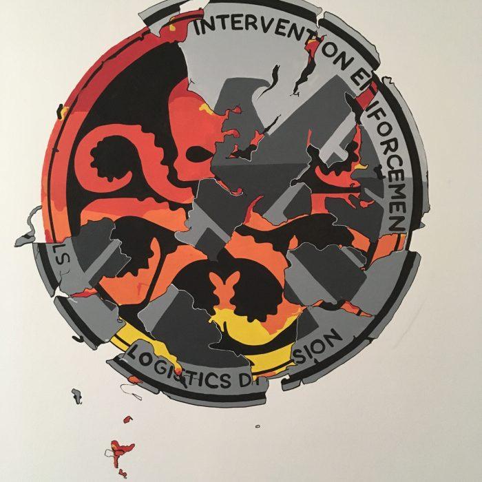 Marvel – logo Hydry